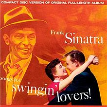 Frank Sinatra - Songs For Swingin' Lovers new cover sc