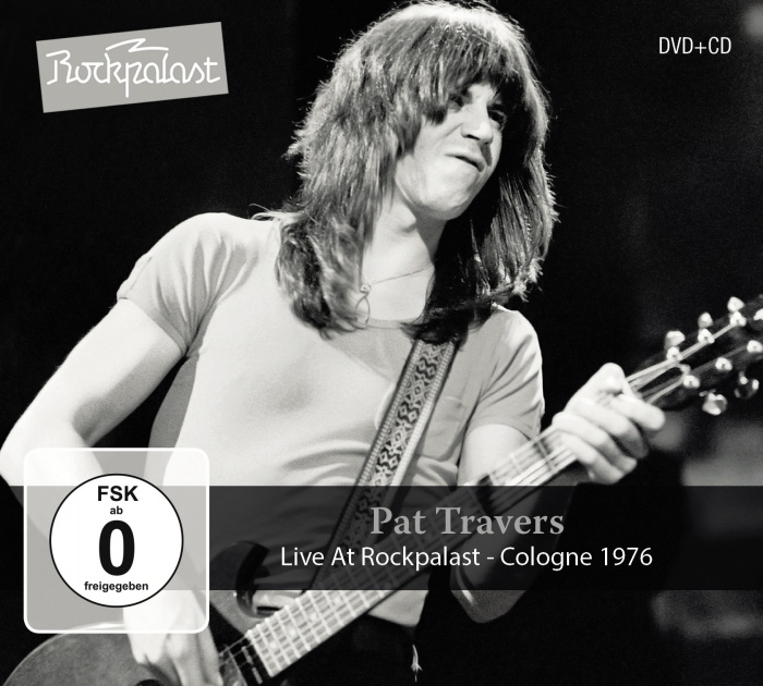 Pat Travers Live At Rockpalast DVD + CD