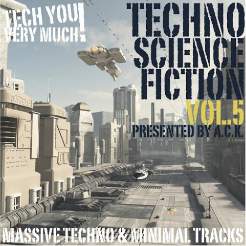 VArious artists - Techno Science Fiction 5